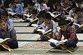 عکس های مراسم ترتیل خوانی یا جزء خوانی یا قرائت قرآن در ایام ماه رمضان در حرم فاطمه معصومه در شهر قم 17.jpg