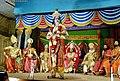 శ్రీ కృష్ణరాయబారం పౌరాణిక పద్యనాటకంలో దృశ్యం..jpg
