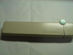 Terumo - A Terumo thermometer