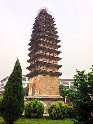 Yang County - Kaiming Temple on 19 May 2013