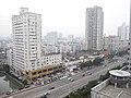 国贸大厦拍车站大道中段 - panoramio.jpg