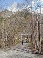 穂高神社奥宮 - Hotaka Shinto Temple - panoramio.jpg