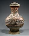 西漢 雲氣紋彩繪陶壺-Covered Jar (Hu) MET DT8314.jpg