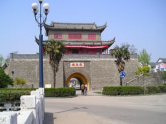 Huai'an - Gate tower in Huai'an