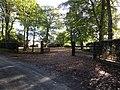 -2018-10-18 Paston Hall gates, Paston Road, Paston, Norfolk.JPG