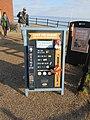 -2019-01-20 Beach clean sign and equipment, Mundesley, Norfolk (2).JPG