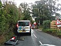 -2019-10-11 Roadworks on Cromer road, Trimingham.JPG