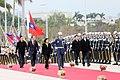 01.23 總統出席「國防部106年新春餐會」前,接受軍禮致敬 (32324301202).jpg