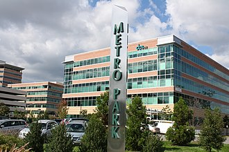 Springfield, Virginia - MetroPark complex of offices