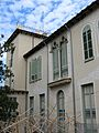 031 Casa Baumann, av. Jacquard (Terrassa), façana que dóna al pati.jpg