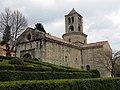 089 Sant Pere de Camprodon, jardins.JPG