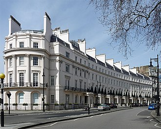 Grosvenor Crescent - 1–10 Grosvenor Crescent, 2013