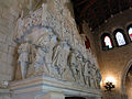 101 Castell de Santa Florentina (Canet de Mar), saló del tron, llar de foc.JPG