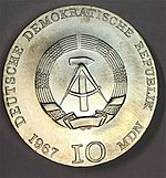 10 Mark DDR Collwitz 1967 obverse.jpg