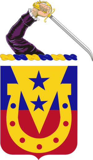 110th Cavalry Regiment - coat of arms