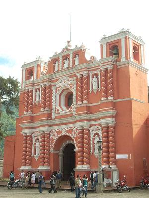 Jocotenango - Jocotenango Church