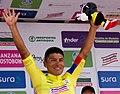 12 Etapa-Vuelta a Colombia 2018-Ciclista Jonathan Caicedo-Lider Clasificacion General.jpg