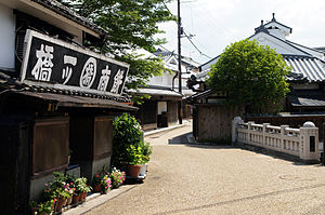 Gojō, Nara - Gojo Shinmachi designated as Important Preservation Districts for Groups of Historic Buildings in Japan