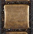 15-03-08 Stolpersteine Lindenthal Bachemer Str. 10 Lieselotte Elbert.jpg