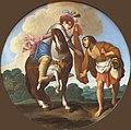 1610 Saraceni Der hl. Martin u.d. Bettler Gemäldegalerie Kat. 664B anagoria.jpg