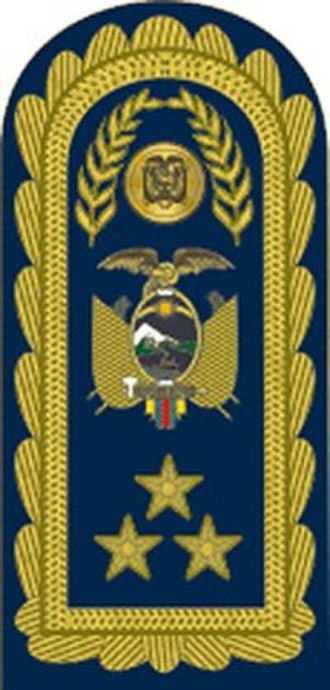 Lieutenant general - Image: 16 FAE Pala de Teniente General Lieutenant General