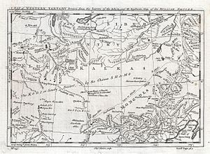 1747 Kitchin Map of Central Asia and the Gobi Desert - Geographicus - WesternTartary-kitchin-1747.jpg