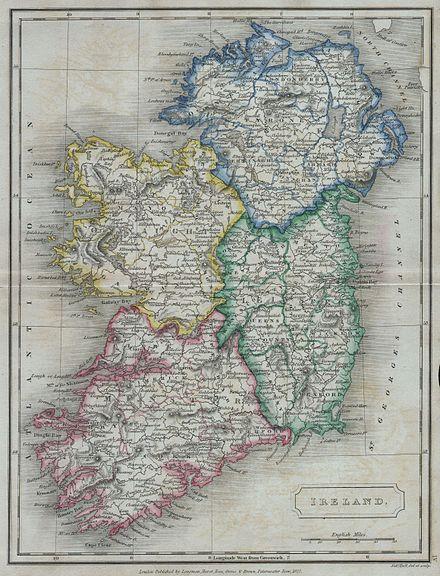 Historische Provinz Irlands
