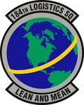 184th Logistics Sq emblem.png