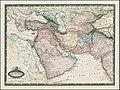 1860 Carte d'Asie Occidentale. Turquie D'Asie, Arabie, Perse, Turkestan, Afghanistan & Beloutchistan.jpg