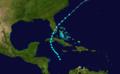 1891 Atlantic tropical storm 7 track.png
