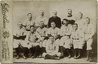 1892 Philadelphia Phillies season - 1892 Philadelphia Phillies; Pictured are Bob Allen, Charlie Reilly, Sam Thompson, Harry Wright, Roger Connor, Bill Hallman, Billy Hamilton, Ed Delahanty, Jack Clements, Tim Keefe, Lave Cross, Gus Weyhing, Kid Carsey.