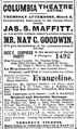 1893 ColumbiaTheatre BostonGlobe Feb26.png