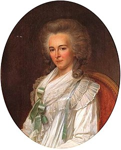 18th century Portrait of Bathilde d'Orléans by a member of the École Française.jpg