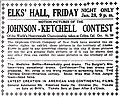 """1910 advertisement for motion pictures in """"The Daily Alaskan"""" (Skagway, Alaska).jpg"""