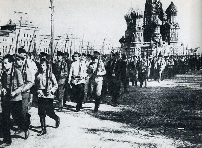 Fichier:19180525-red army parade on red square.jpg