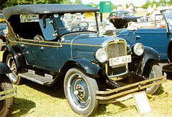 Chevrolet Capitol Serie AA Tourer (1927)