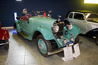 Derby (French car) - Image: 1933 Derby V8