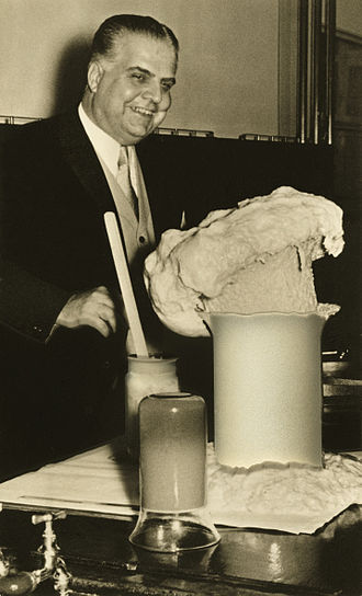 Otto Bayer - Otto Bayer demonstrated in 1952 his invention Polyurethan