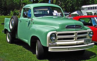 Studebaker E-series truck Motor vehicle