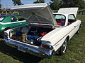 1964 Ambassador 990-H hardtop in white at AMO 2015 meet 2of6.jpg