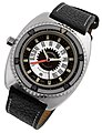 1972 Aquadive Time-Depth wrist watch.jpg