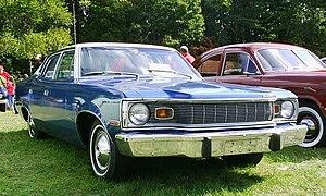 AMC Matador - 1975 Matador base model sedan