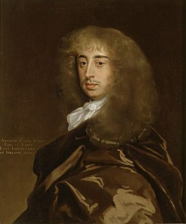 Arthur Capell, 1st Earl of Essex English noble