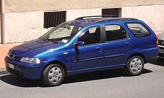 Fiat Palio - 2001 Fiat Palio Weekend (Europe)