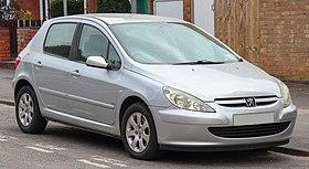 2002 Peugeot 307 Rapier 16V 1.6 Front.jpg