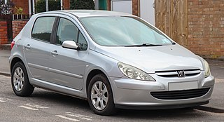Peugeot 307 Motor vehicle