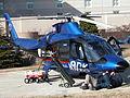 2004-02-02 Servicing the Duke Life Flight helicopter.jpg