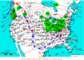 2005-01-22 Surface Weather Map NOAA.png