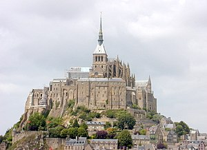 Robert of Torigni - Image: 200506 Mont Saint Michel 02