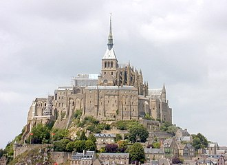 History of Normandy - Mont-Saint-Michel